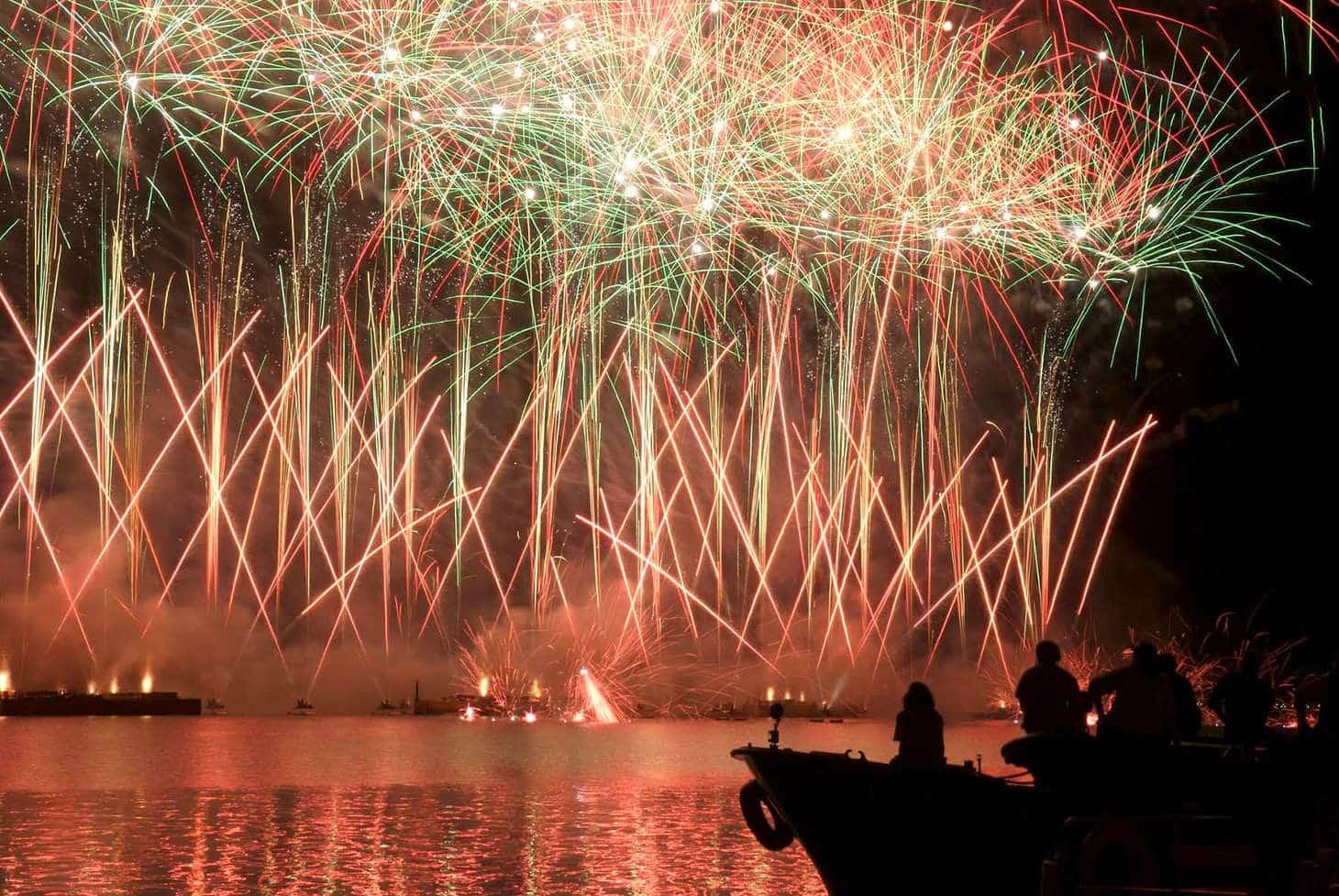 Festa del Redentore Fuochi d artificio