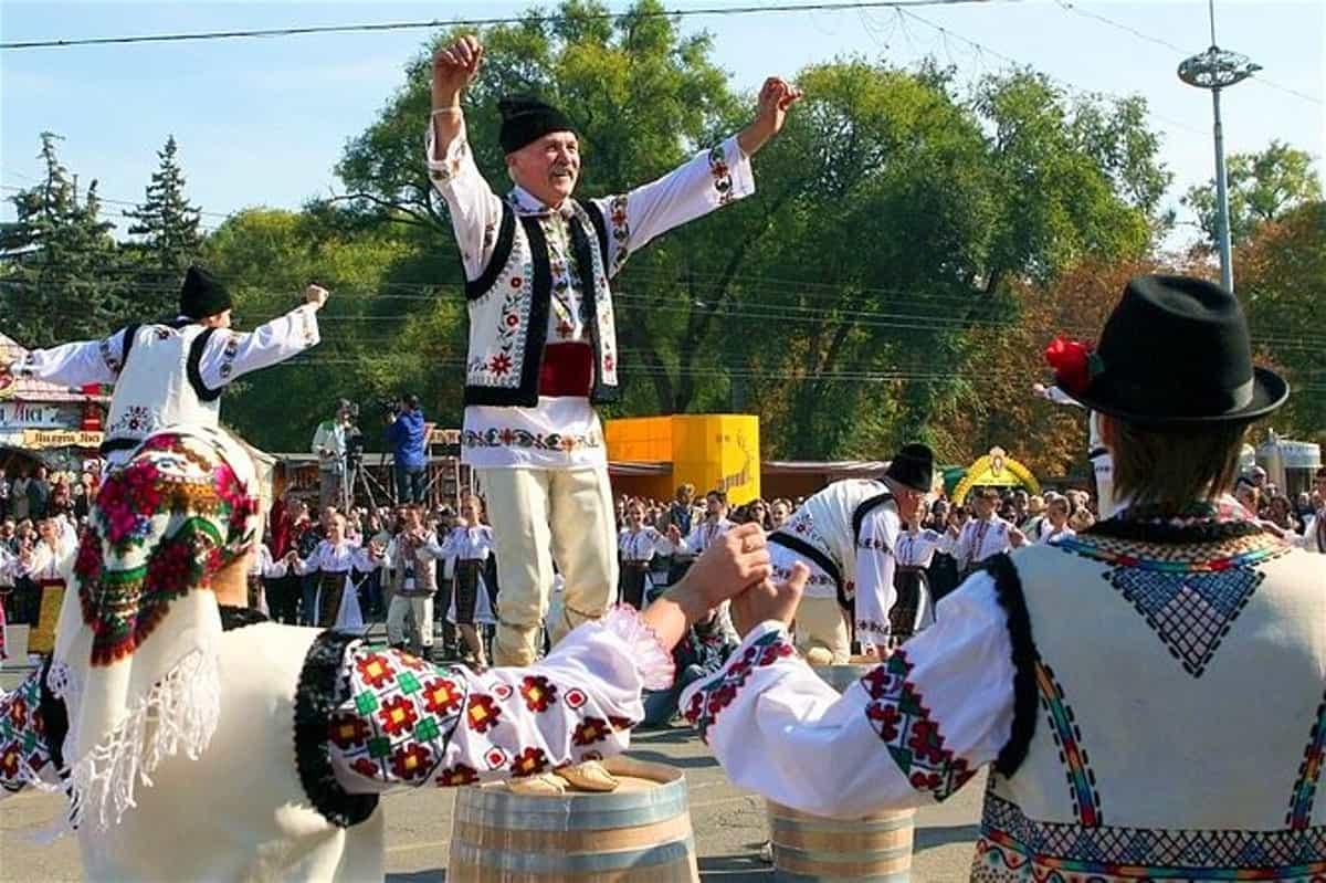 Festa del vino Moldavia