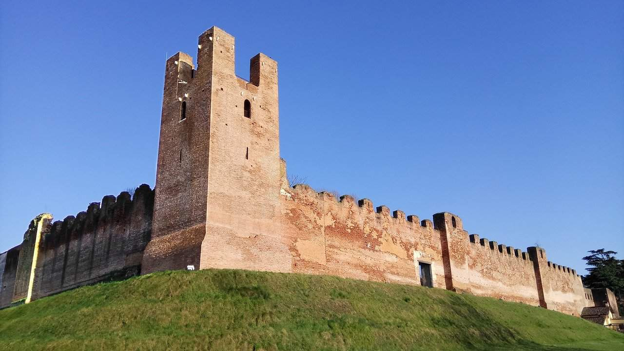 Asolo, Castelfranco, Treviso e le ville del Palladio